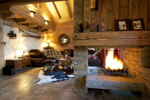 Rustic Chic Alpine Style At Its Best