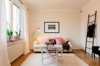 Naturally inviting girly apartment  Adorable Home