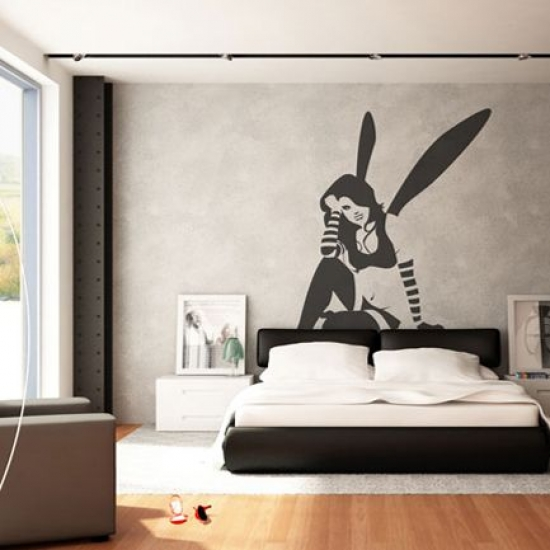 Decoration Salon Murale People Silhouette Wall Stickers – Adorable Home