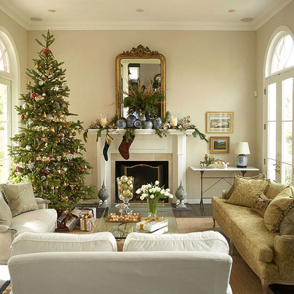Interieur Design Website Sophisticated Christmas Décor In Gold