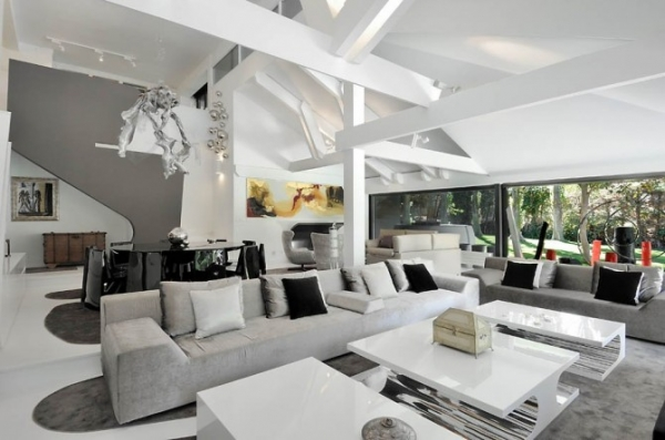 Ultra Modern Interior Featuring Futuristic Architecture - Adorable