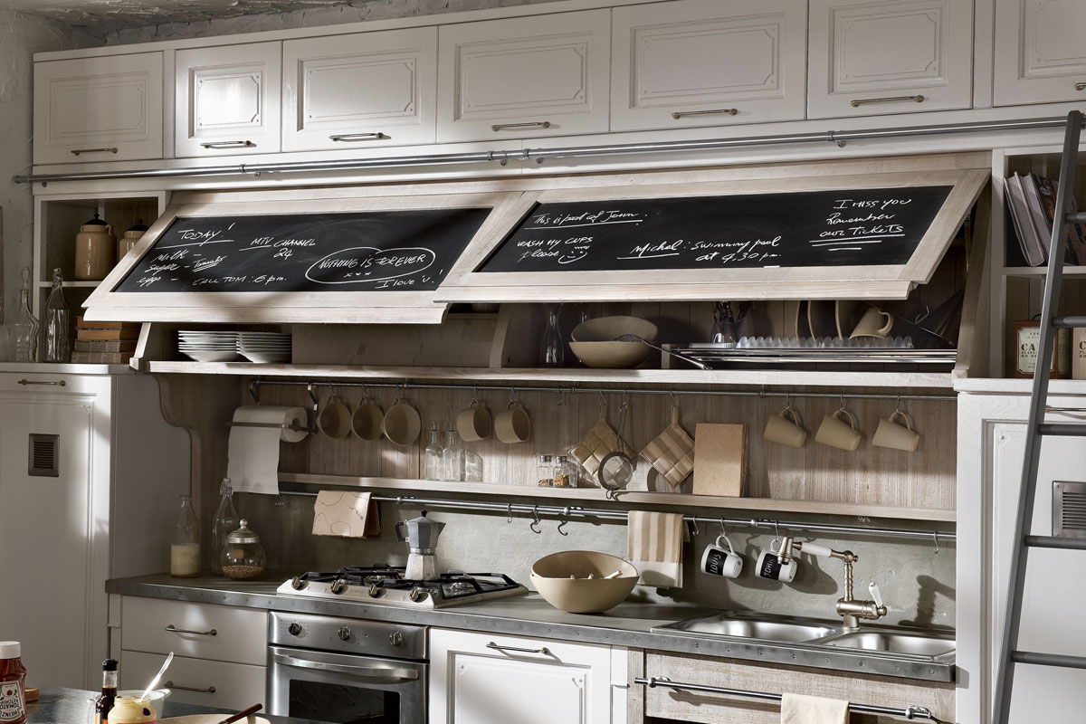 Antique Looking Kitchen Cabinets Vintage And Industrial Style Kitchens By Marchi Group