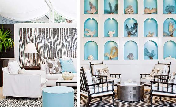 Coastal interior design Adorable Home - coastal home decor