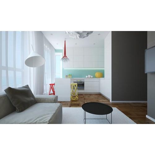 Medium Crop Of Small Modern Apartment