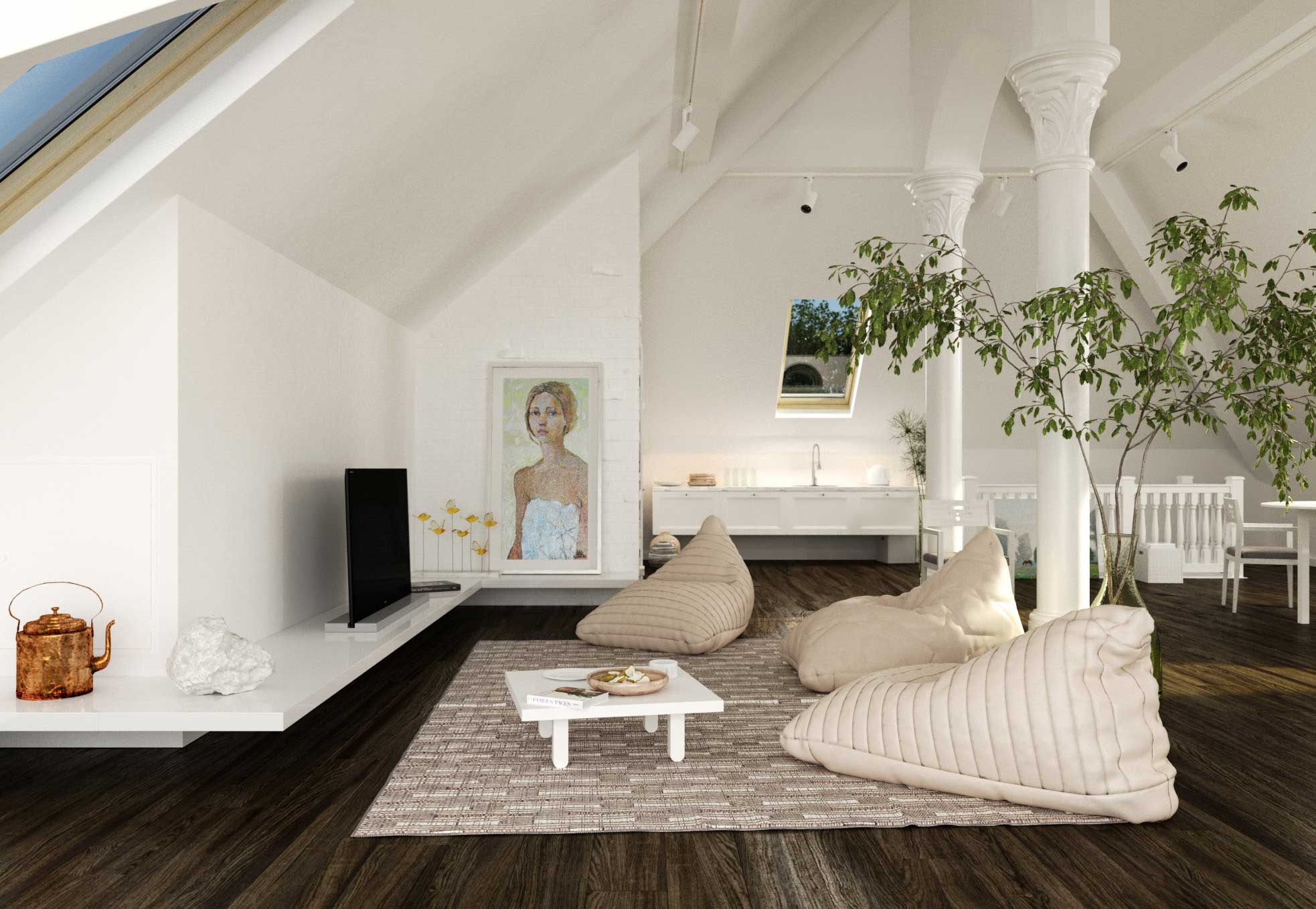 Attic Space Ideas 39 43 Attic Living Rooms That Really Are The Best Adorable