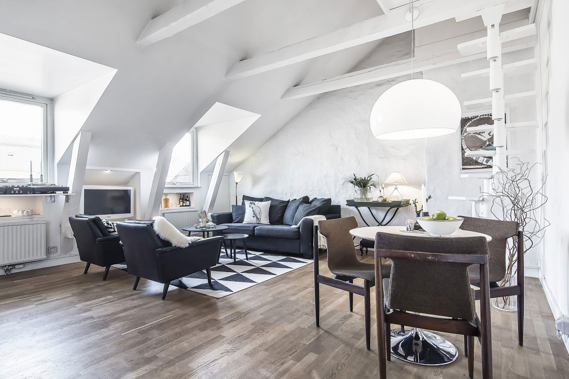 Home Und Design 39+ Attic Living Rooms That Really Are The Best - Adorable ...