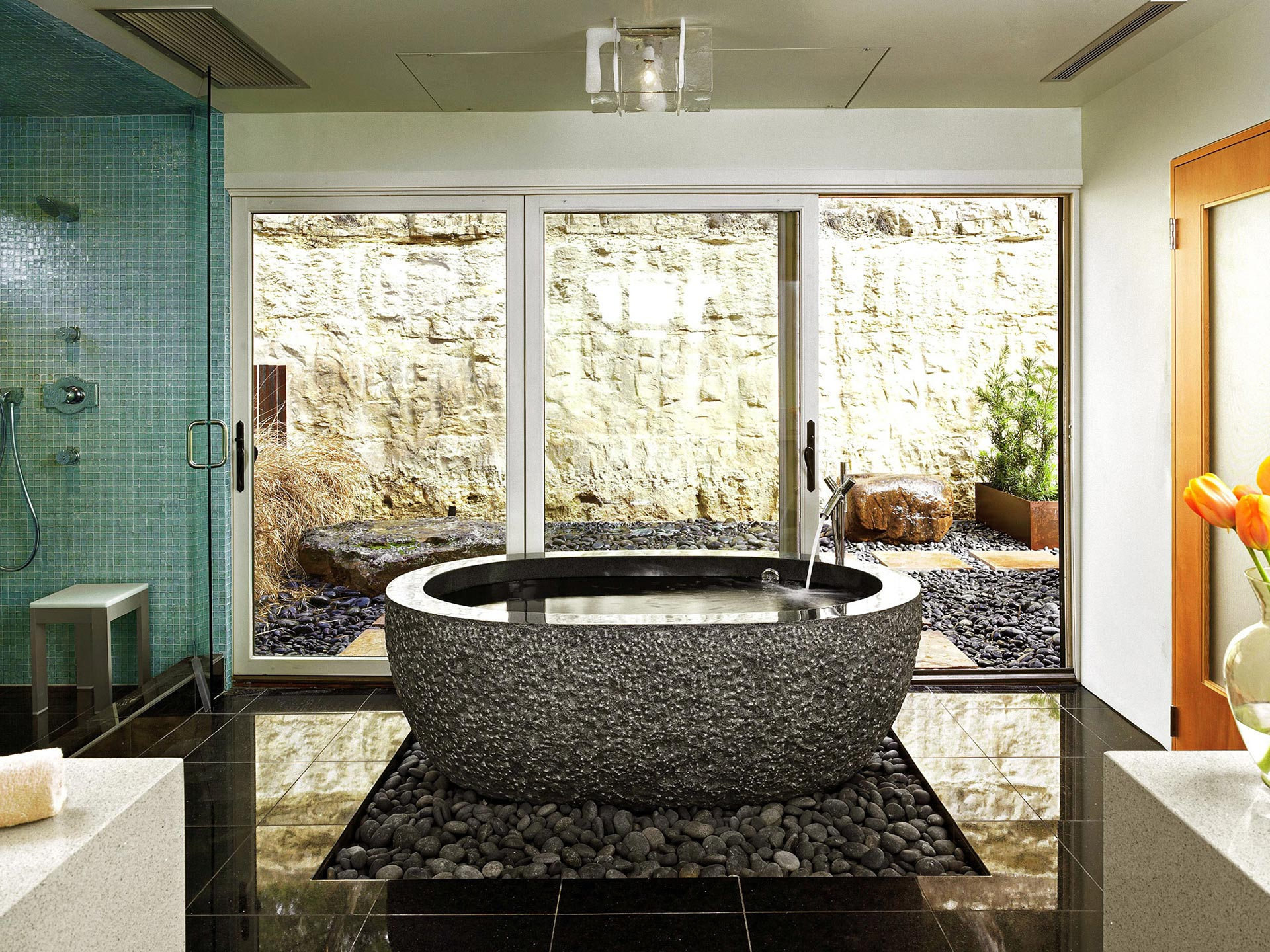 Badewann Freistehend These Are The Most Impressive Natural Stone Bathtubs On