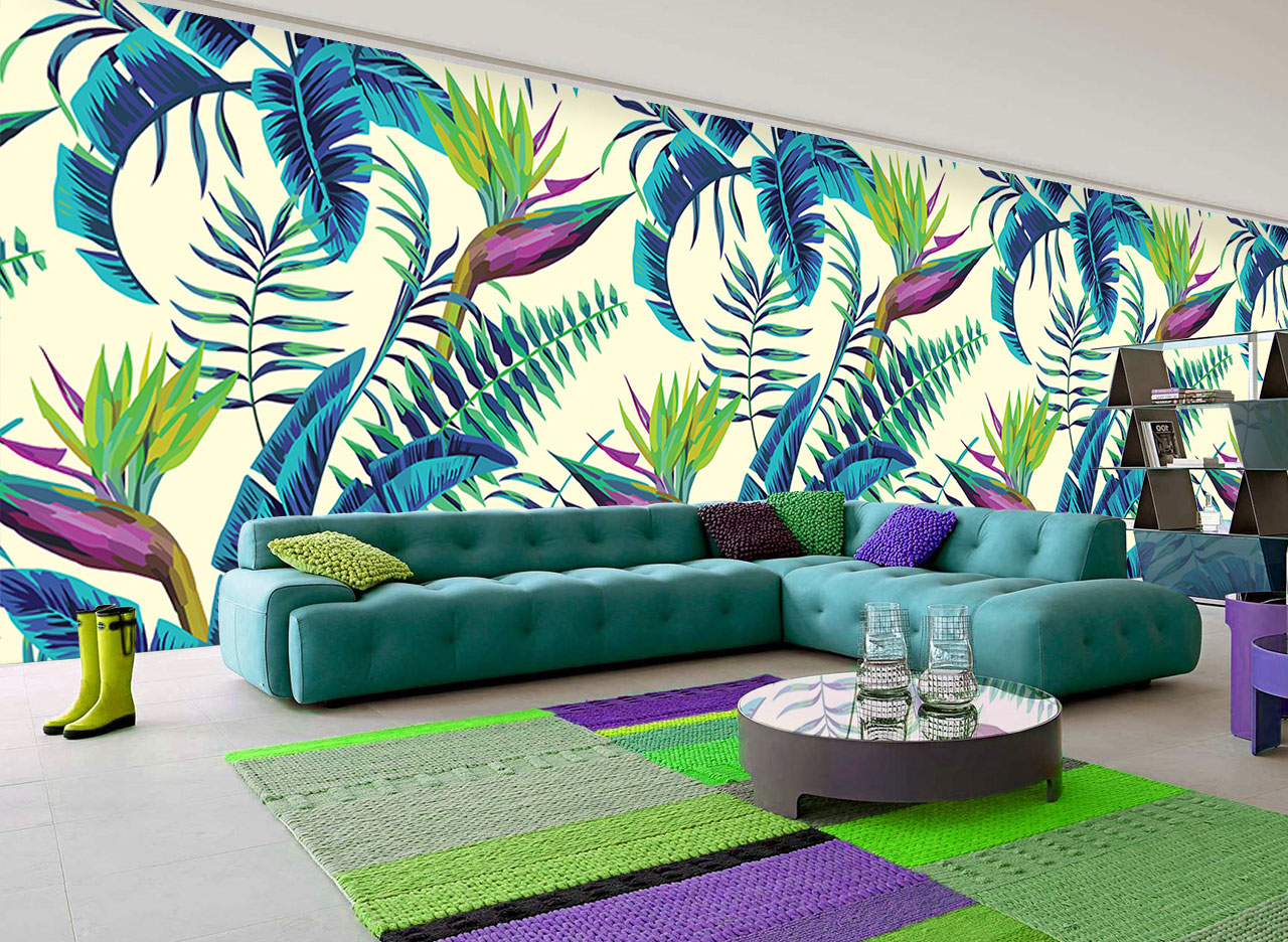 3d Wallpaper For House Walls The Ultimate Comeback Tropical Wallpapers Adorable Home