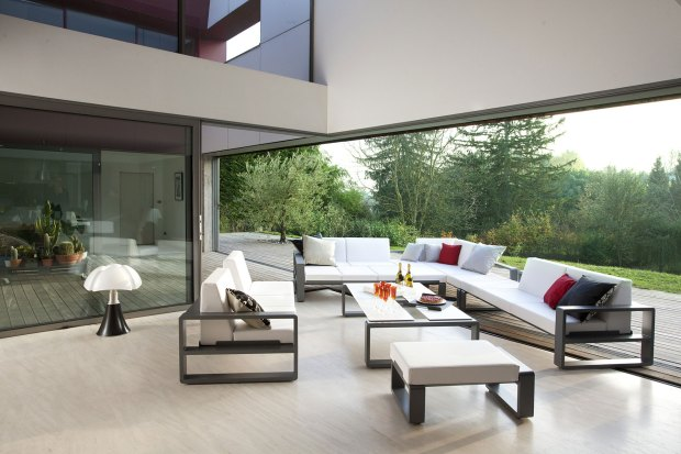 puzzle of contemporary outdoor patio furniture