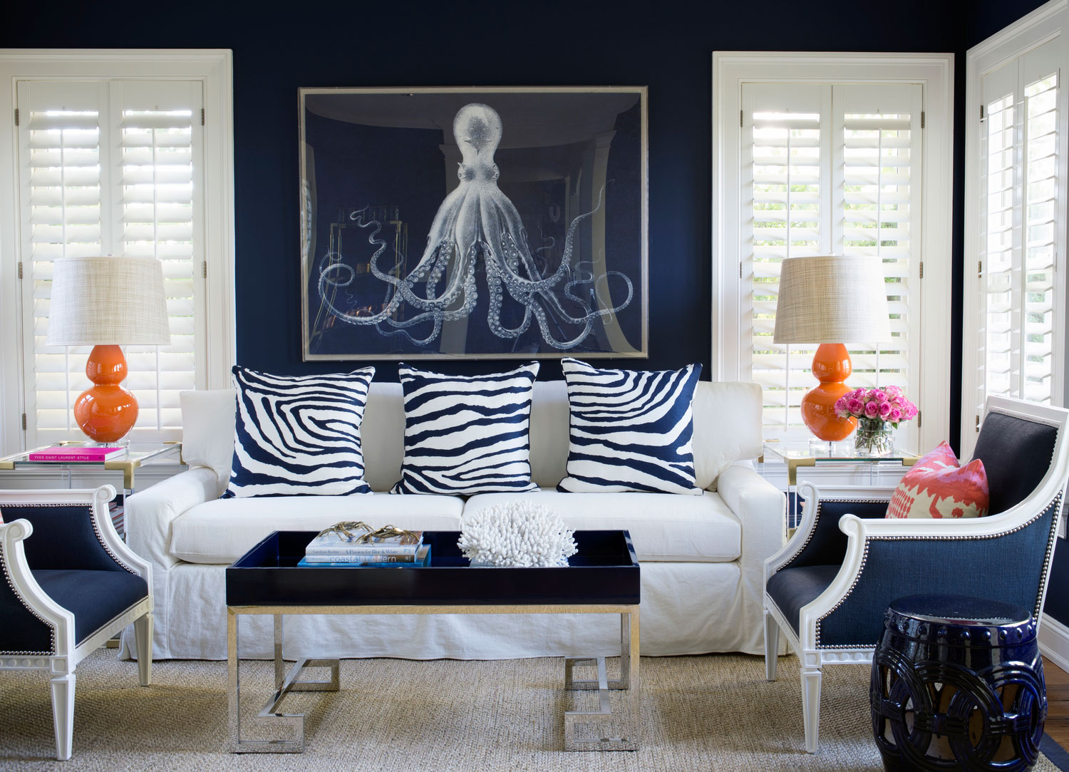 Blue Living Room Decor Ideas Navy Blue Living Room Ideas Adorable Home