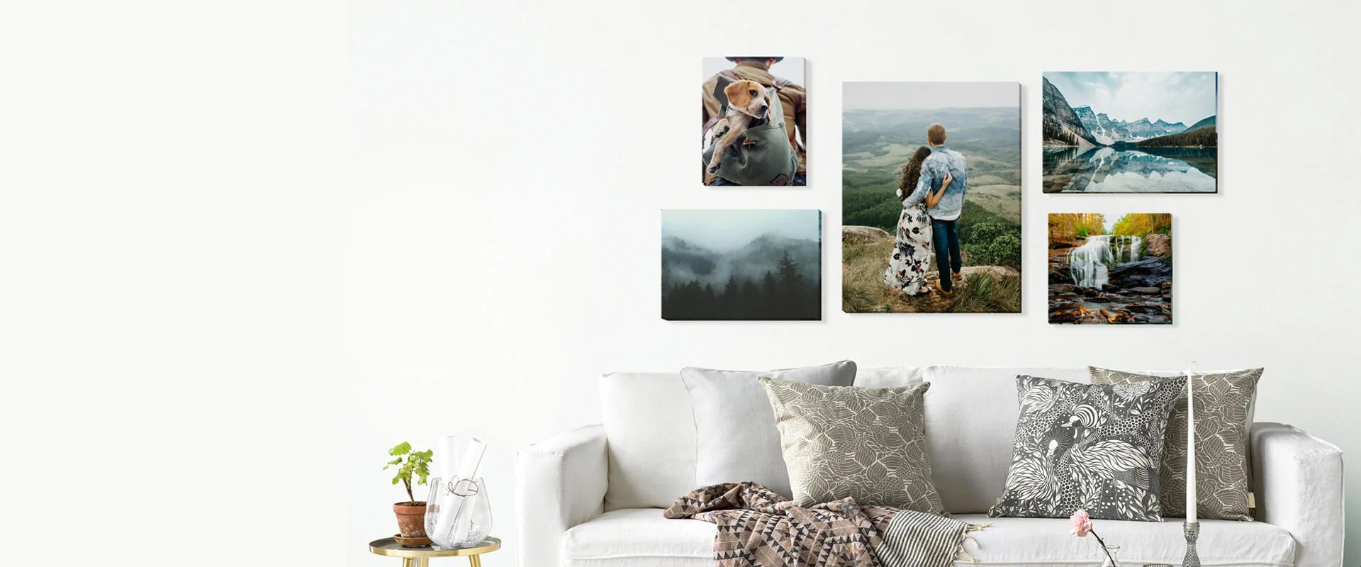 Printing Canvas Canvas Print Custom Photo Prints On Gallery Wrapped Canvas