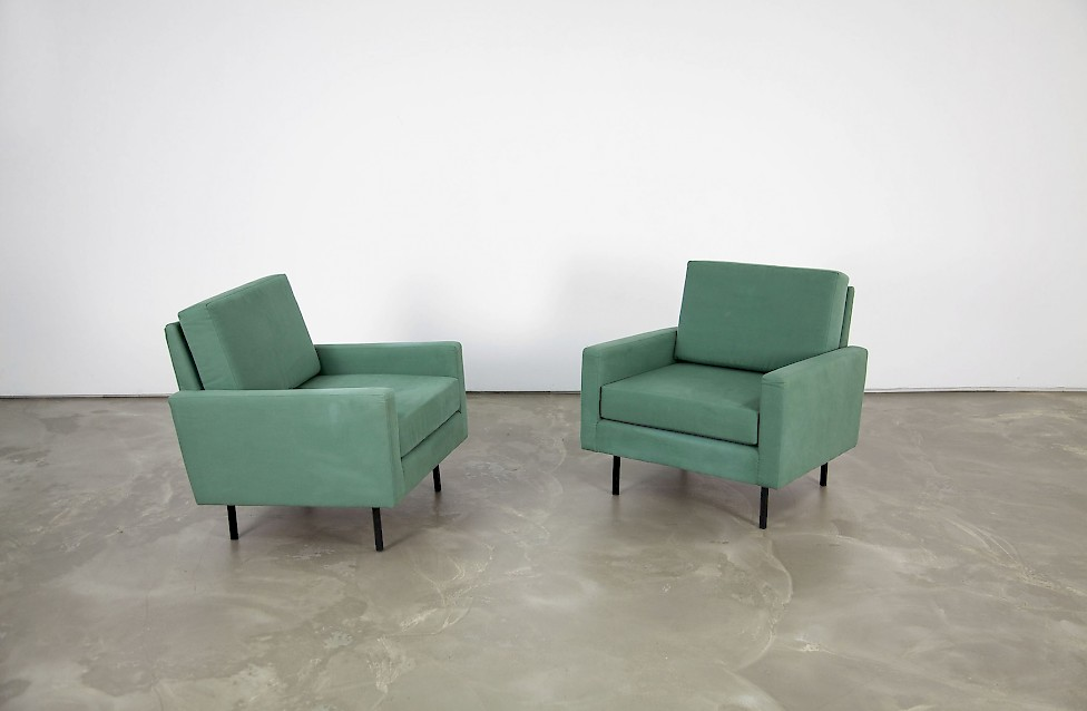 Florence Knoll Sessel Zwei Sessel 25 Bc Von Florence Knoll - Adore Modern