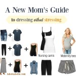 A New Mom's Guide to Dressing without Stressing