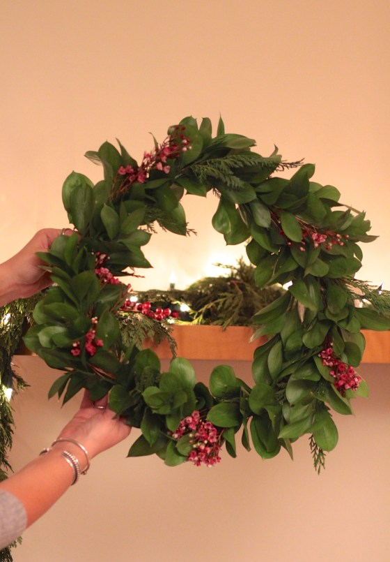 How To Host A Wreath-Making Party | Adorned With Love