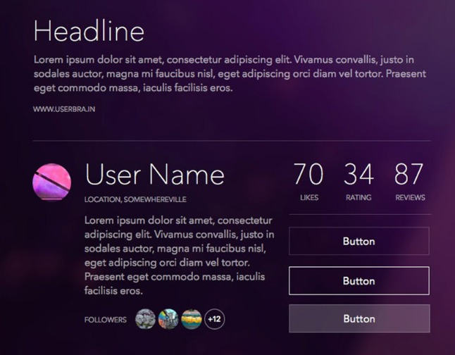 UI kit for scetch