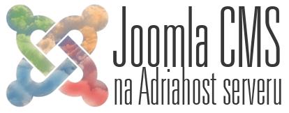 Joomla CMS na Adriahost serveru