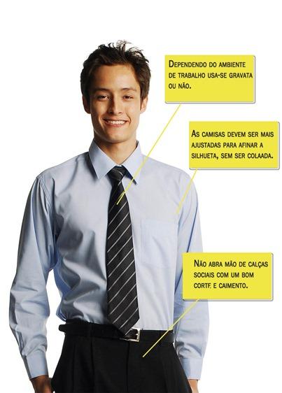 roupa de trabalho masculina