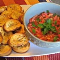Bruschetta ~ Salsa Italiana