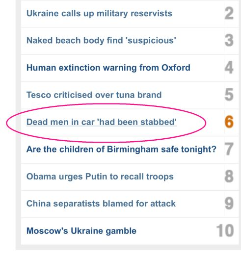 The curse of quotation marks on the BBC website BlauBlog - website quotation
