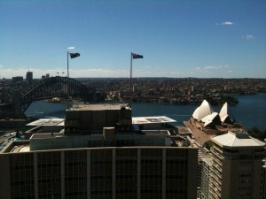 View from Baker & McKenzie Office in AMP Building