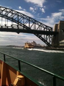 Commute into Sydney
