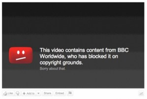 bbc video removed