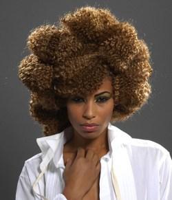 cabelos crespos afro e ondulados fotos e penteados o cabelo pode ser ...
