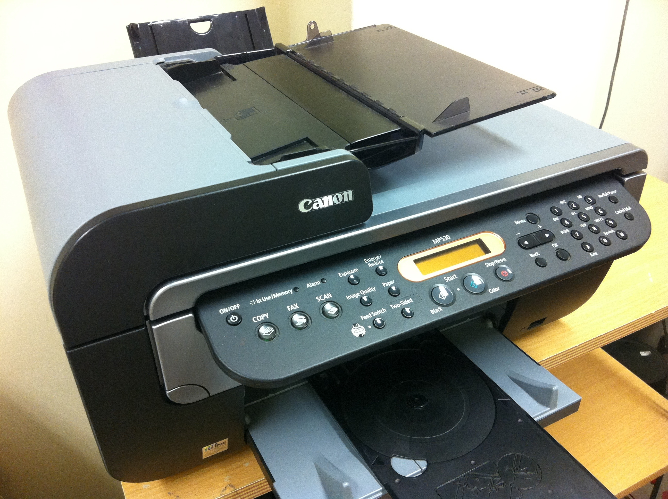 Canon All In One Sold Canon Pixma Mp530 All In One Inkjet Printer Used