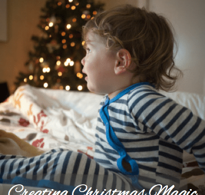 Creating Christmas magic through simple family traditions. Spend little, celebrate big.
