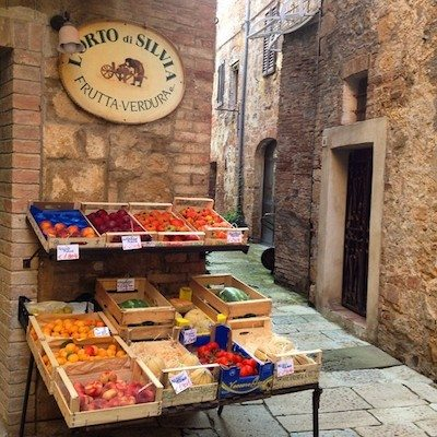 Fresh and slow in Pienza.