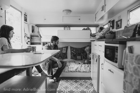 Tiny house, big love- life in our renovated vintage caravan — Adriel Booker-10