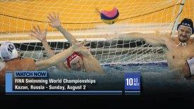 2015 FINA Swimming World Championships: Kazan, Russia: Men's Water Polo: USA vs. Brazil