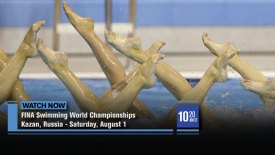 FINA Swimming World Championships: Synchronized Swimming: Final Freestyle Combination: Kazan, Russia