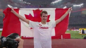 2015 Track and Field World Champs: Drouin wins High Jump