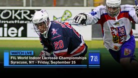 2015 FIL World Indoor Lacrosse Championship: Syracuse, NY: Semifinal
