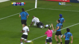 2015 IRB Rugby World Cup: Fiji vs Uruguay