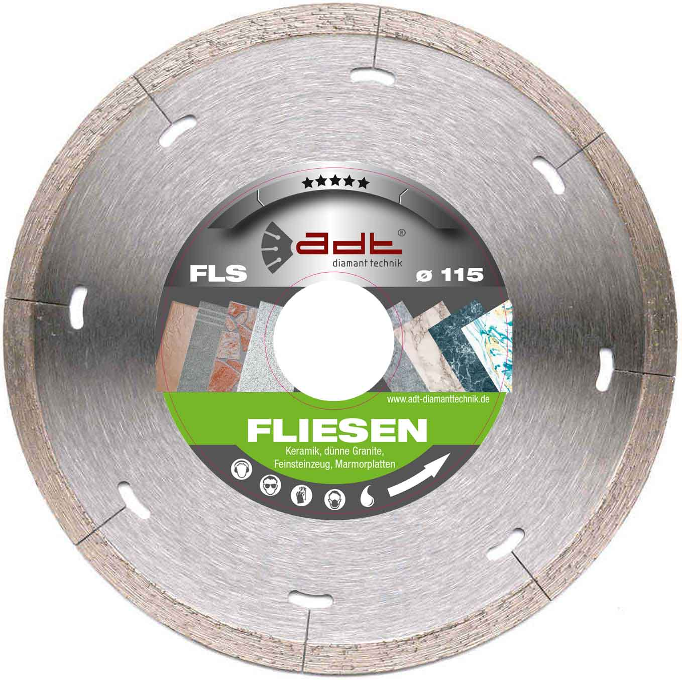 Fliesen Schneiden Service Diamond Cutting Disc Tiles Fls Adt Specialist Trade
