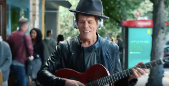 Kevin Bacon EE Adverts