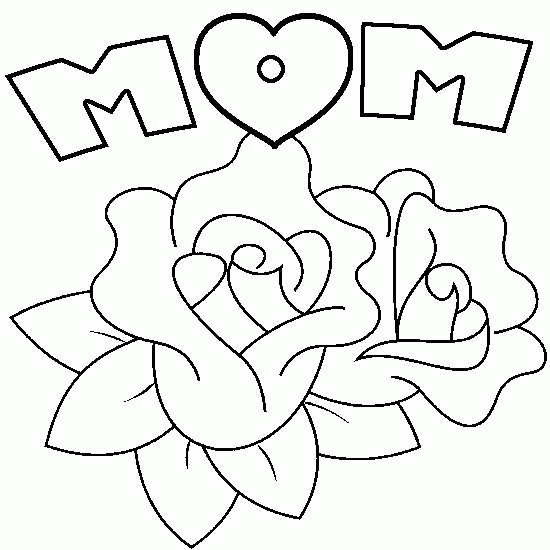 25 Free Printable Mothers Day Coloring Pages Pictures FREE
