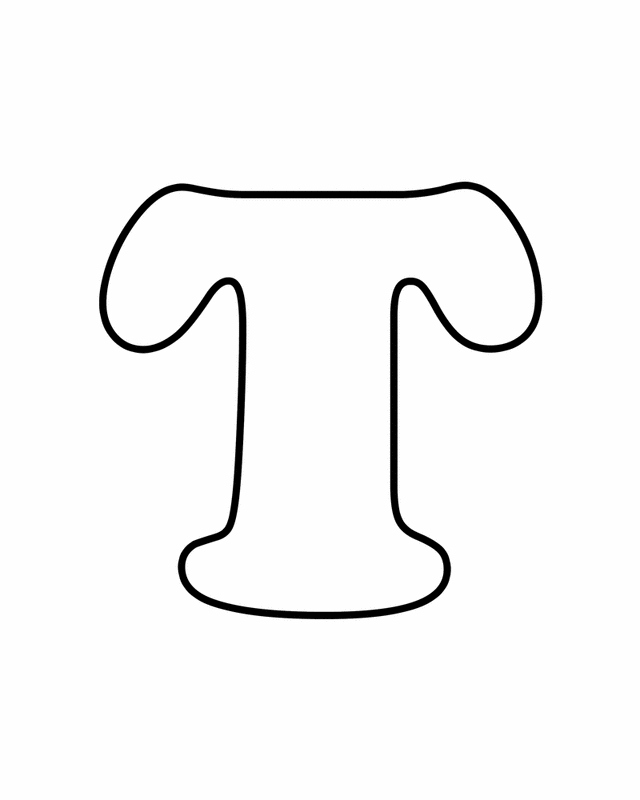 21 Letter T Coloring Page Pictures FREE COLORING PAGES - Part 2