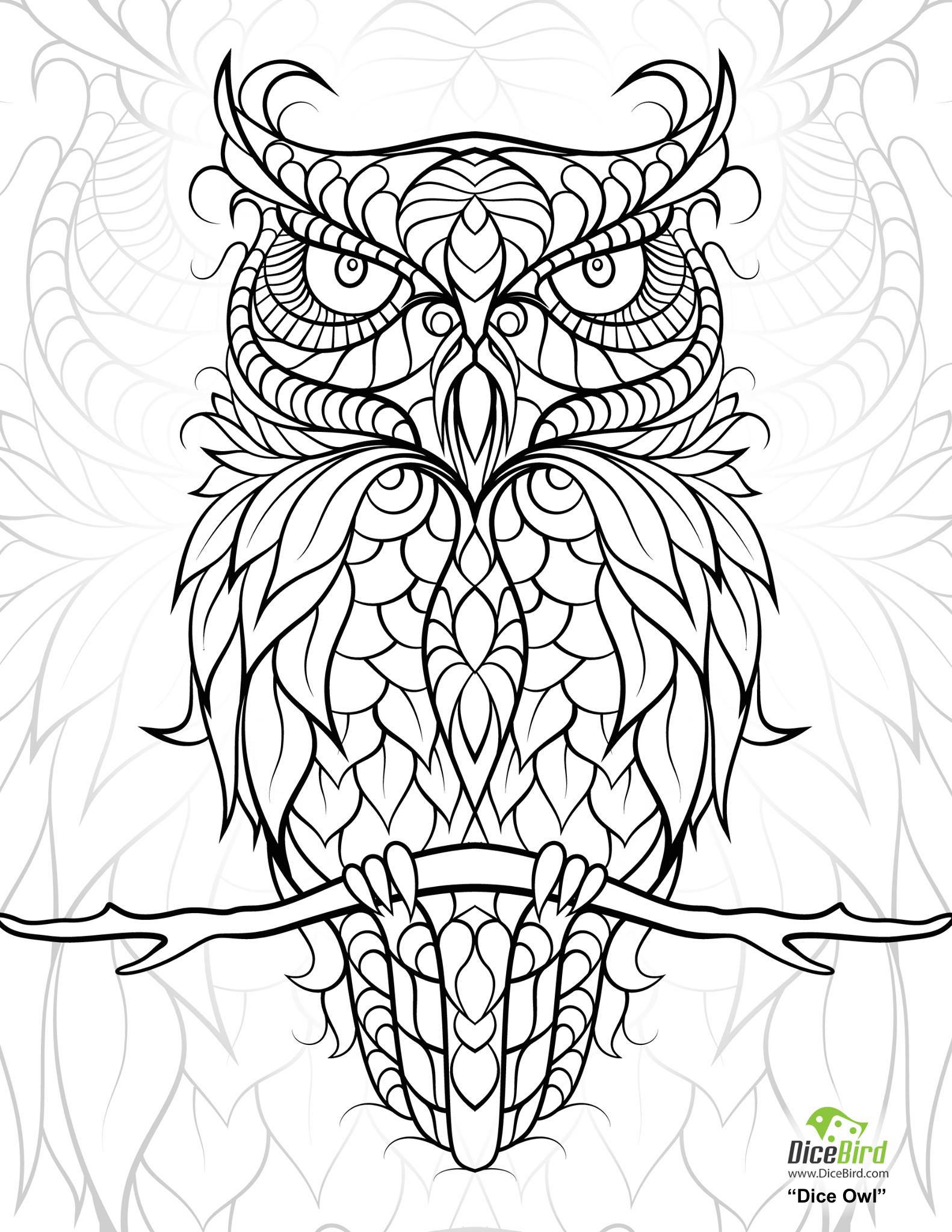 Free coloring pages for adults -  Free Coloring Pages For Adults 33 Download