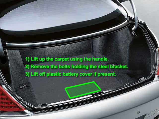 Bmw 6 Series Car Battery Location Abs Batteries