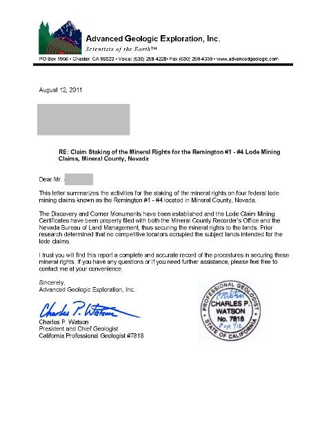Geological Engineer Cover Letter - sarahepps -