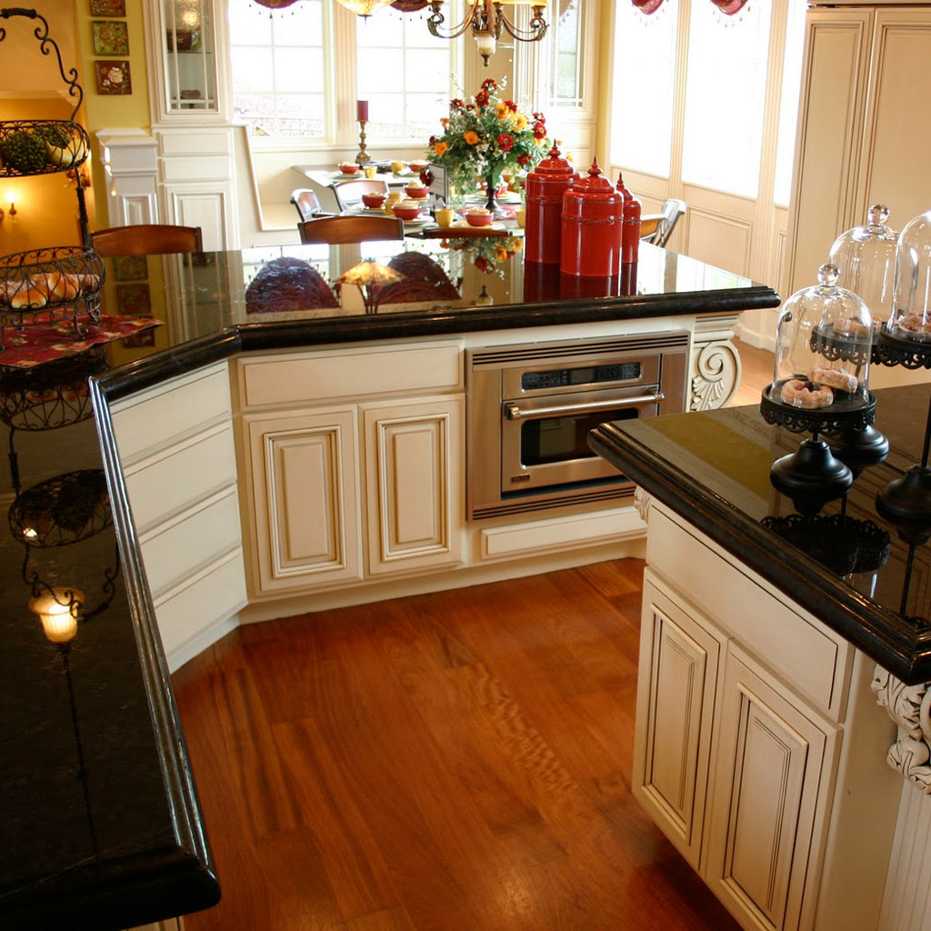 Cabinet Colors With Black Countertops Best Granite For Kitchens Wow Blog