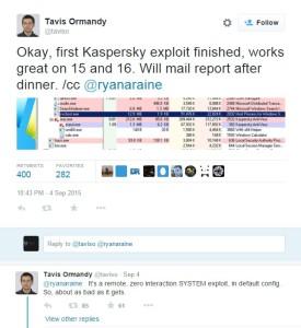 Flaws in Kaspersky FireEye products