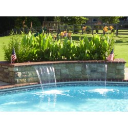 Small Crop Of Pool Water Features