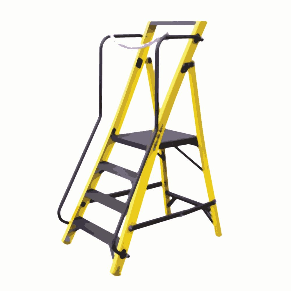 Platform Step Ladder Advanced Seamless Inc