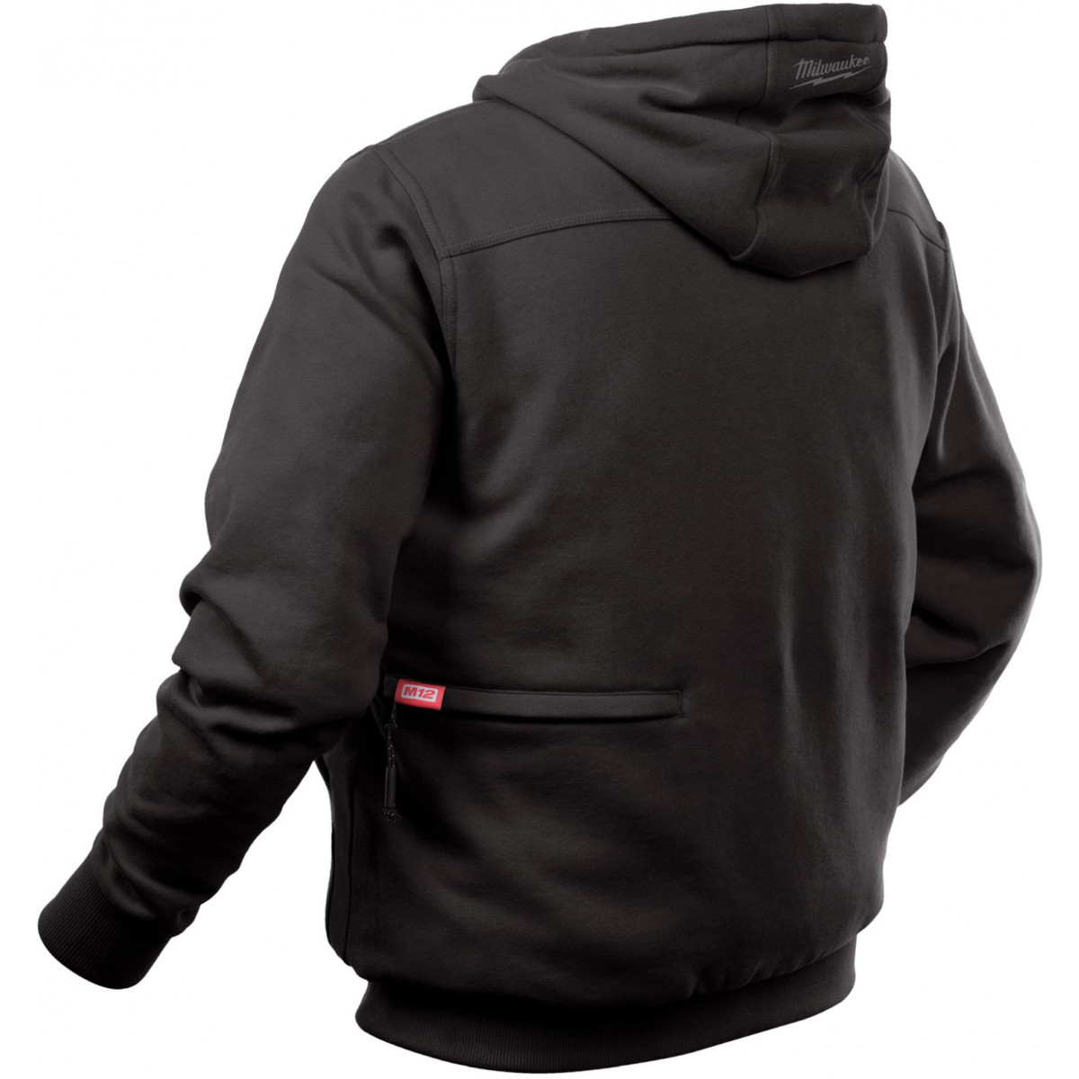 M12 Heated Jacket Milwaukee 302b 20 M12 Heated Black Large Hoodie Jacket Advanced Tool Equipment