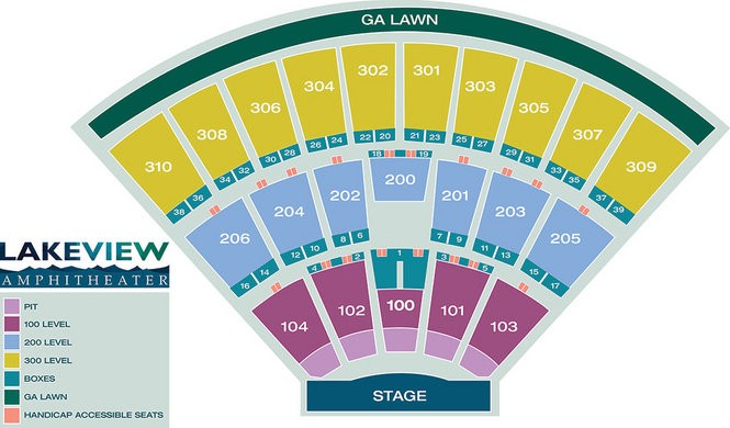 Tickets, seating info for Dave Matthews Band and Ringo Starr at