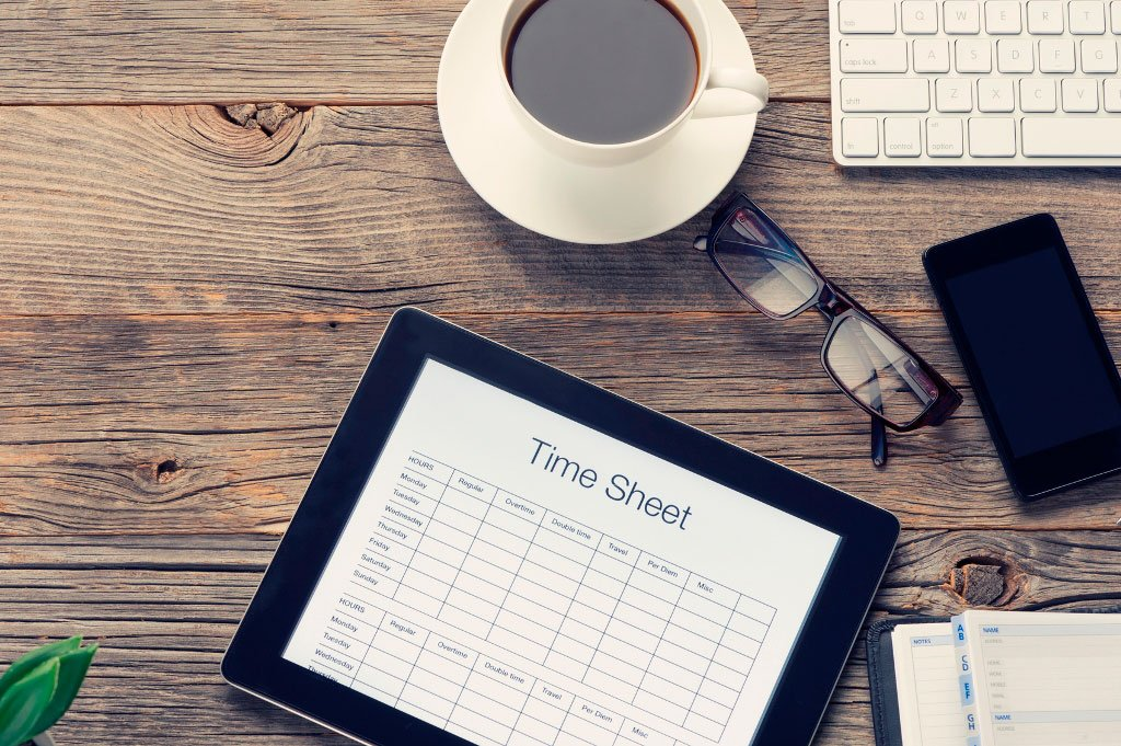 Electronic Timesheet software for small business Advance System